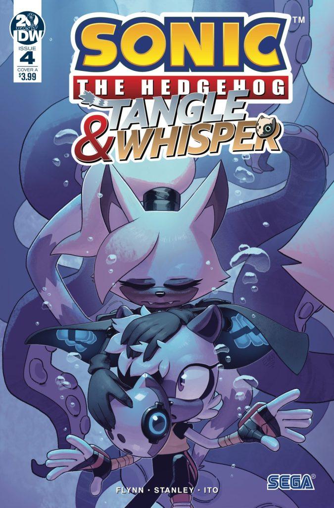 Sonic the Hedgehog: Tangle & Whisper #4 (of 4)