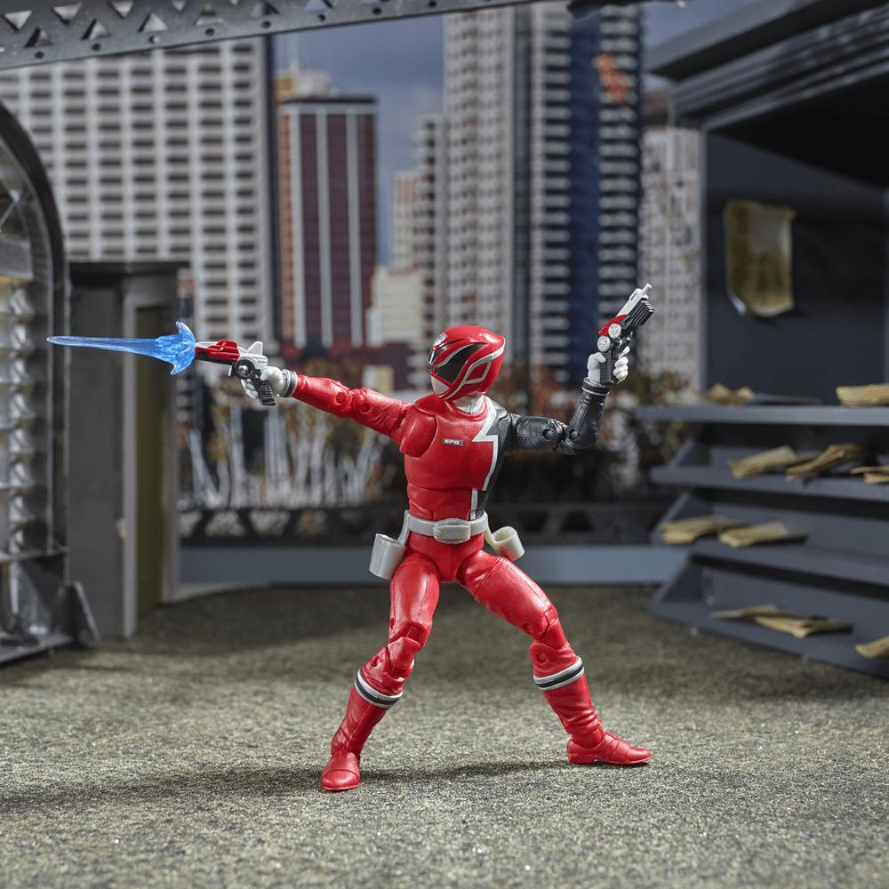 Hasbro Power Rangers Lightning Collection Dragon Shield Noir Ranger En Stock