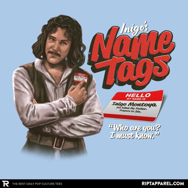 Inigo's Name Tags