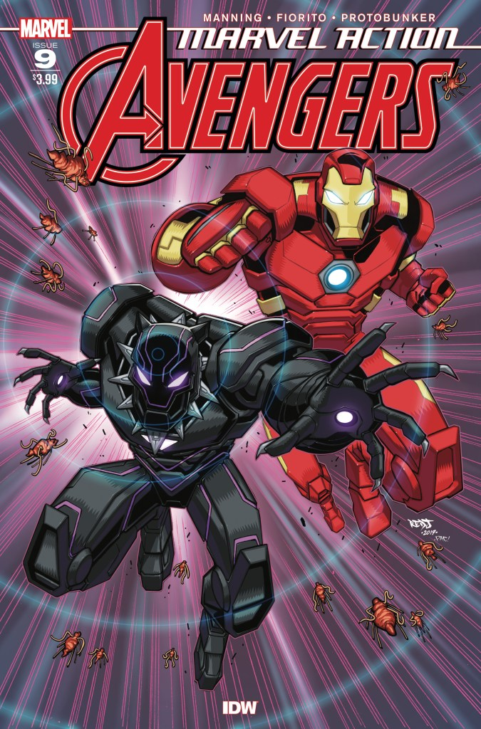 Marvel Action: Avengers #9