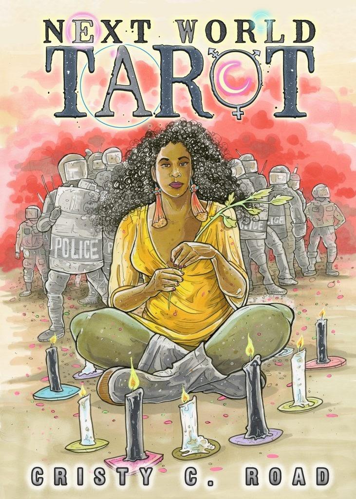 Next World Tarot: Pocket Edition & Art Book by Cristy C Road