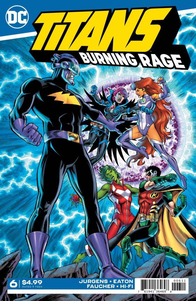 Titans: Burning Rage #6 (of 7)