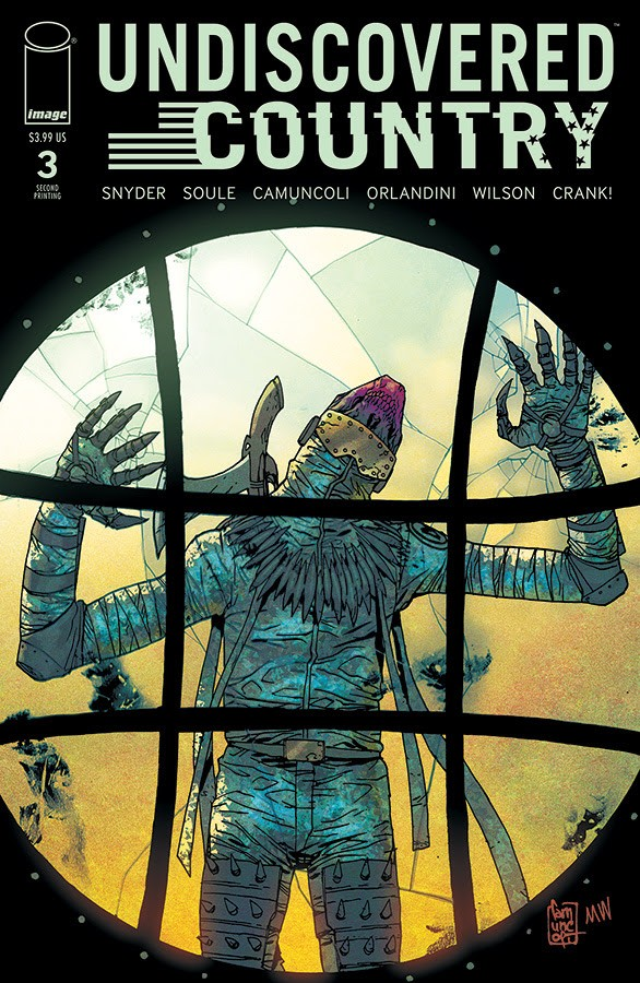 Undiscovered Country #3, second printing
