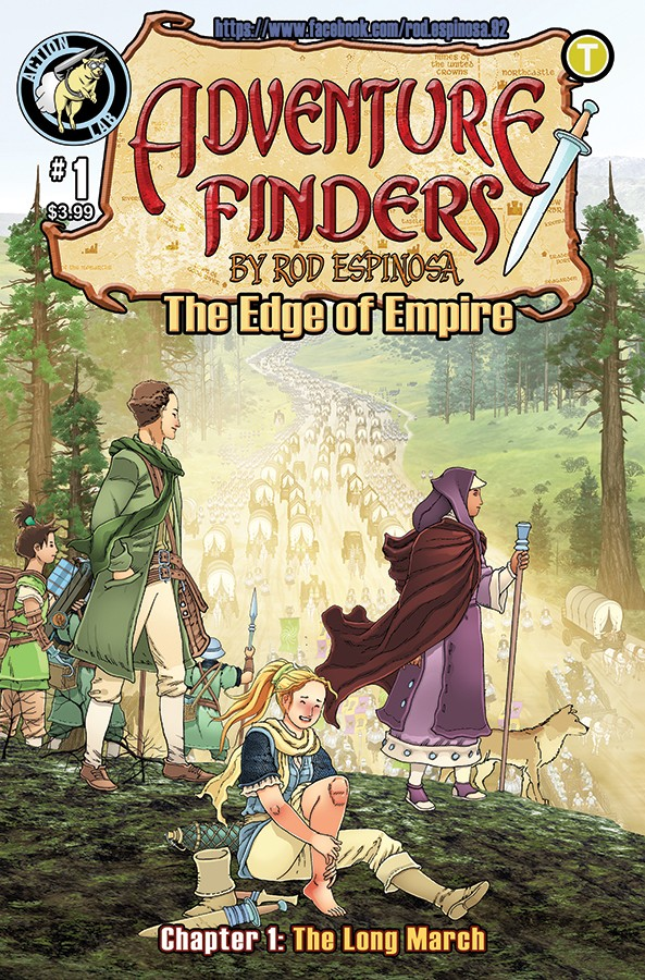 ADVENTURE FINDERS: THE EDGE OF EMPIRE TPB