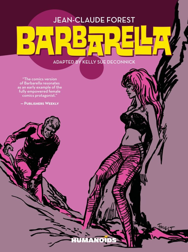 The First Ever Trade Paperback of BARBARELLA by Jean-Claude Forest