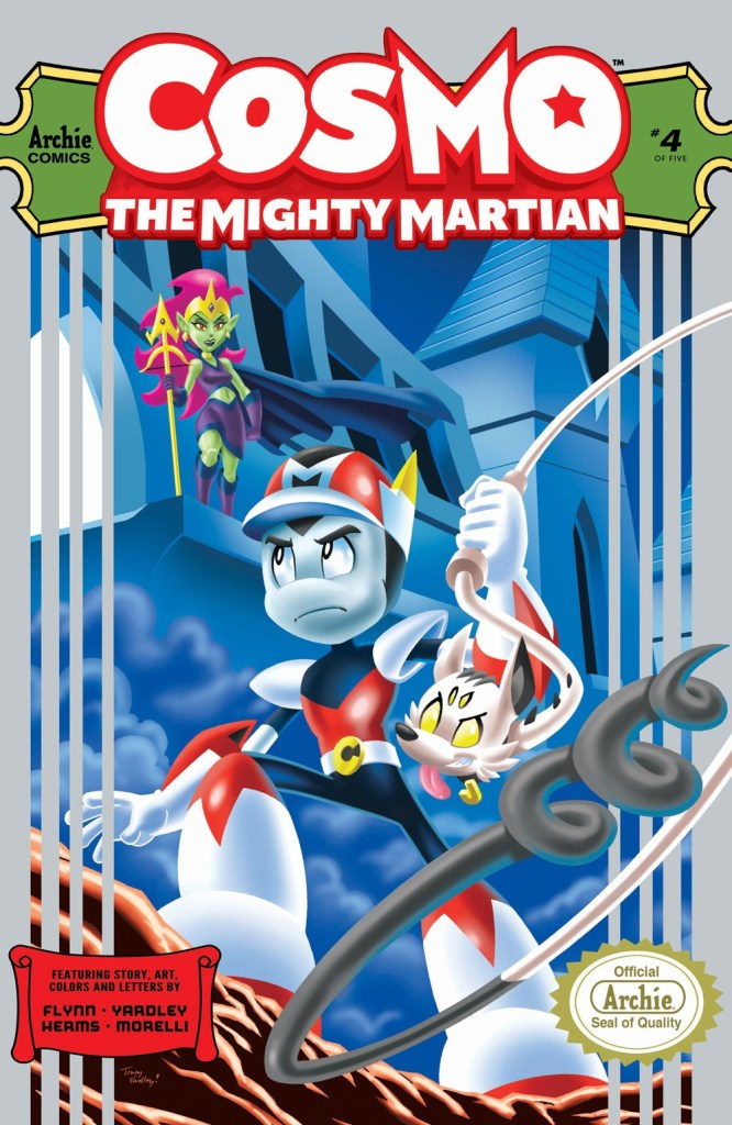 COSMO THE MIGHTY MARTIAN #4 (of 5)