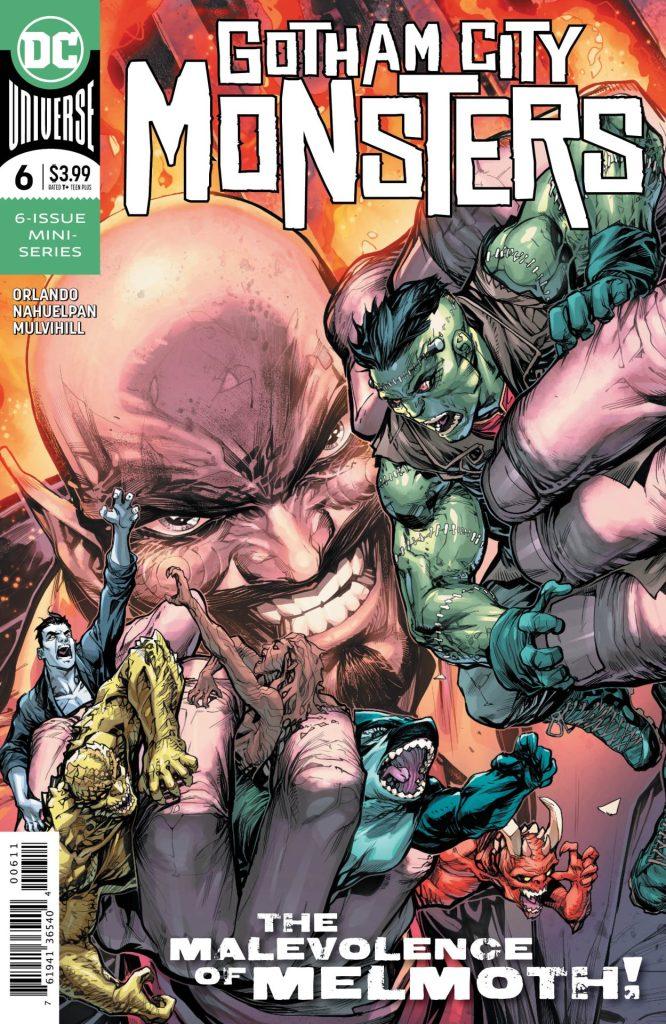 Gotham City Monsters #6 (of 6)
