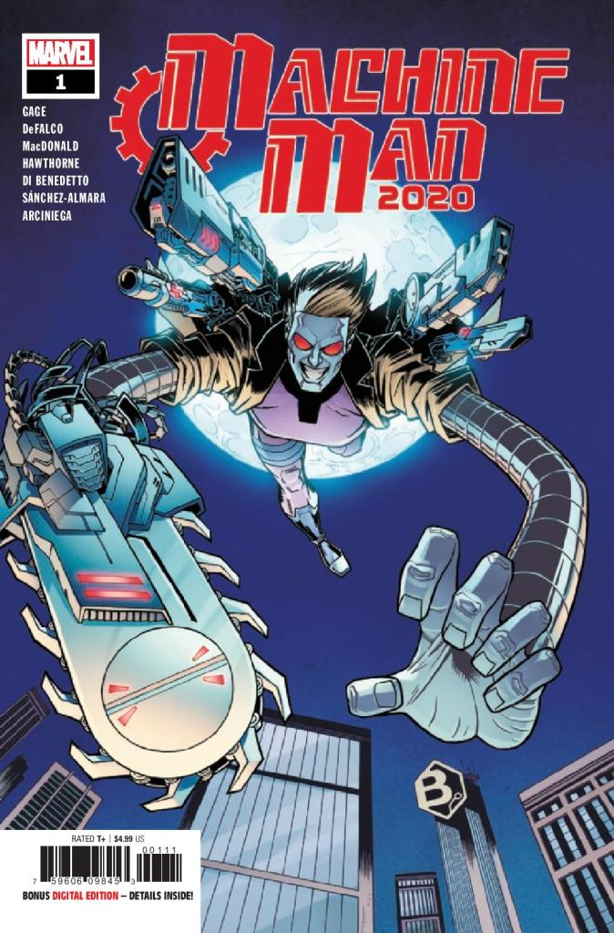2020 Machine Man #1 (of 2)