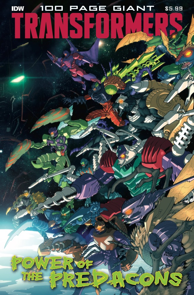 Transformers 100 Page Giant: Power of the Predacons