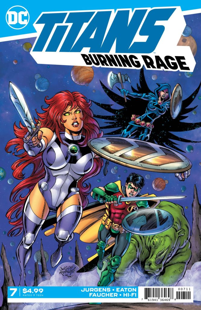 Titans: Burning Rage #7 (of 7)
