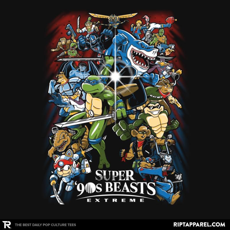 Super 90s Beasts