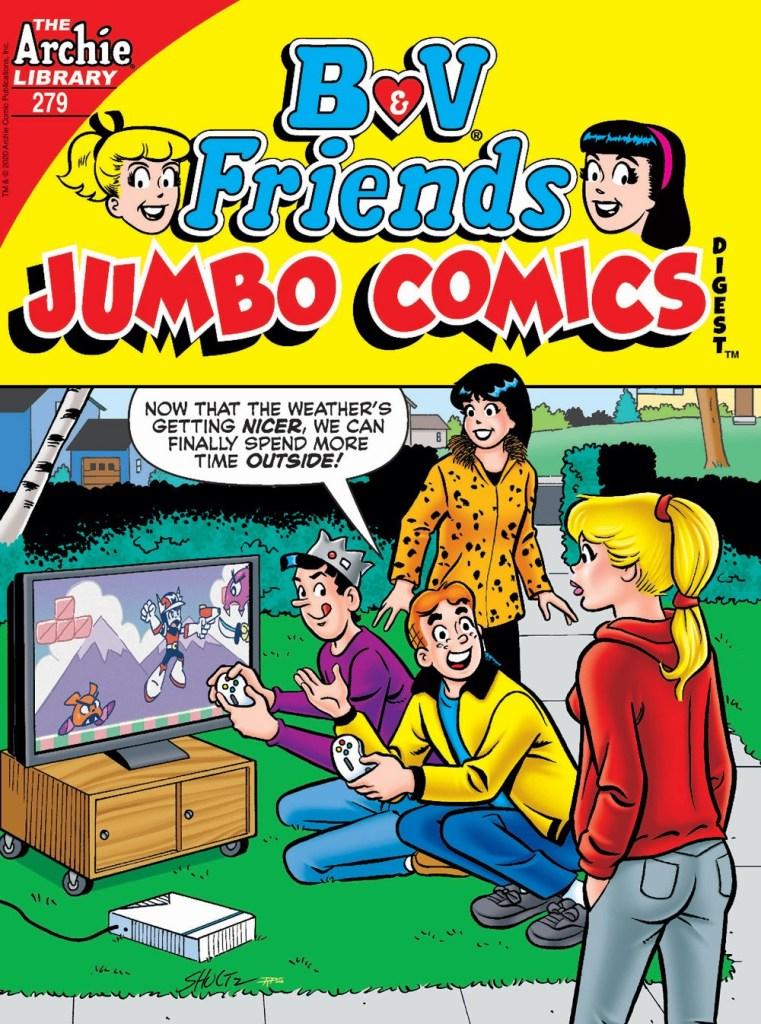 B&V FRIENDS JUMBO COMICS DIGEST #279