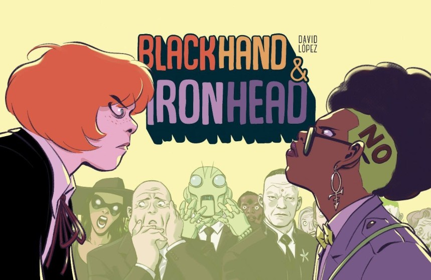 BlackHand & IronHead, Vol. 1