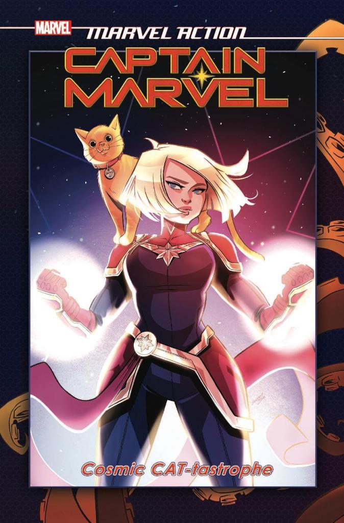 Marvel Action: Captain Marvel Vol. 1 Cosmic Cat-Tastrophe