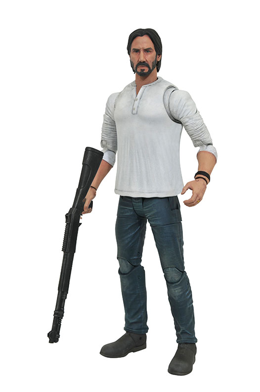 John Wick Select Casual John Wick Action Figure