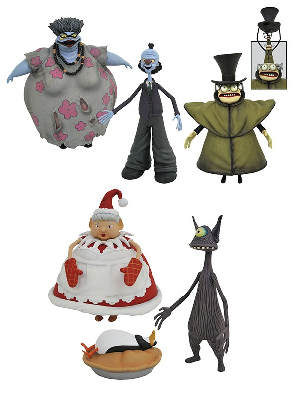 Nightmare Before Christmas Select Action Figures Series 10 Asst.
