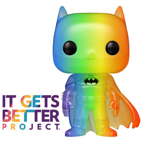 Funko Celebrates Pride with Spongebob, Hello Kitty, and Batman Pop!s | Graphic Policy