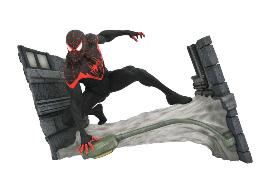 Marvel Comics Gallery Miles Morales Spider-Man PVC Diorama