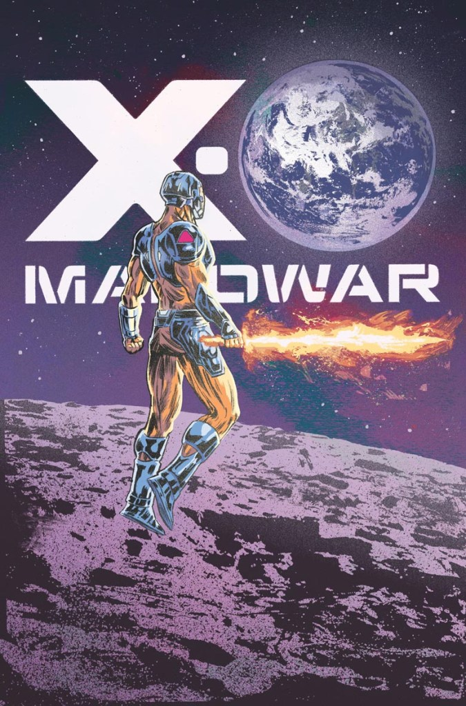 X-O MANOWAR #3 1:25 Cover by Dustin Weaver