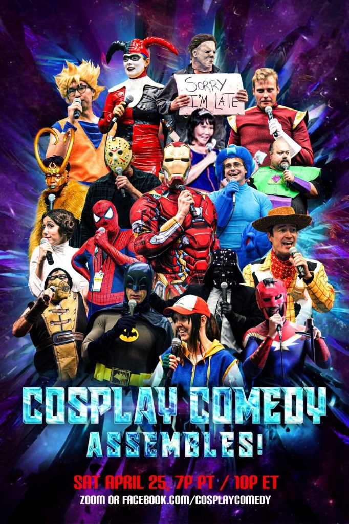 Cosplay Comedy Assembles