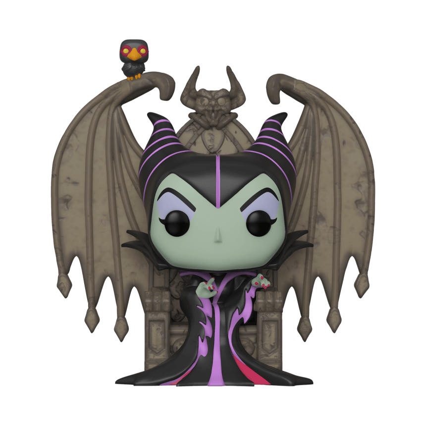 Pop! Deluxe: Villains - Maleficent on Throne