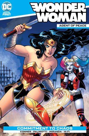 Wonder Woman: Agent of Peace