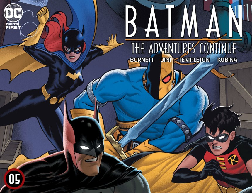 Batman: The Adventures Continue Chapter Five