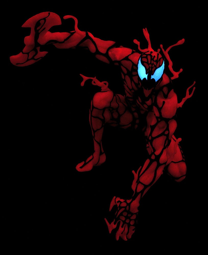 HCF 2020 Marvel Comic Gallery Glow-in-the-Dark Carnage PVC Diorama