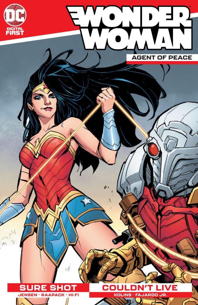 Wonder Woman: Agent of Peace #5