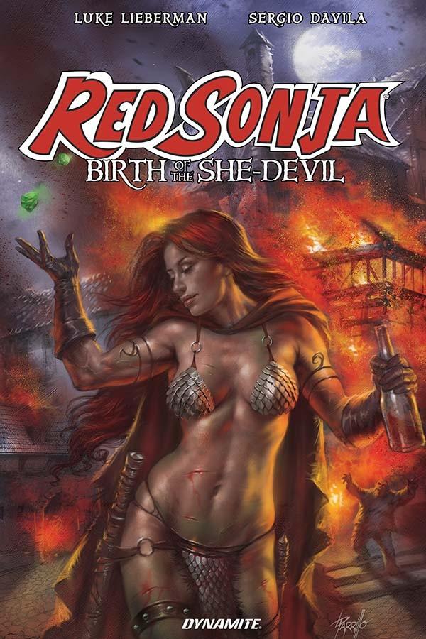 Red Sonja: Birth of The She-Devil TP