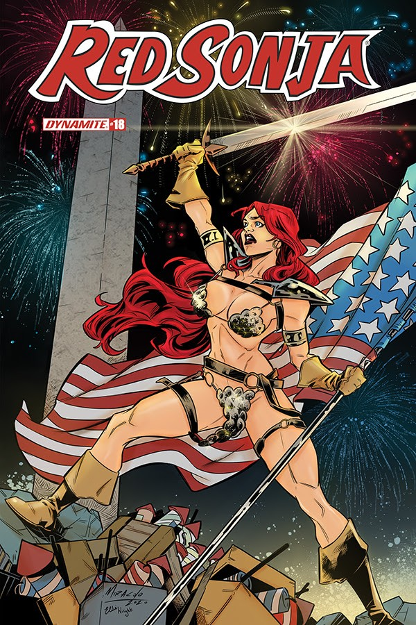 Red Sonja #18 variant