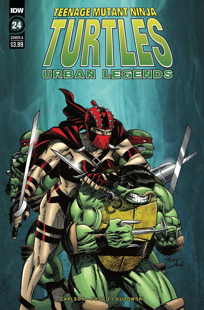 Teenage Mutant Ninja Turtles: Urban Legends #24