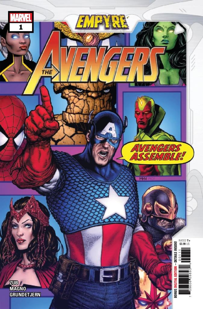 Empyre: Avengers #1 (of 3)
