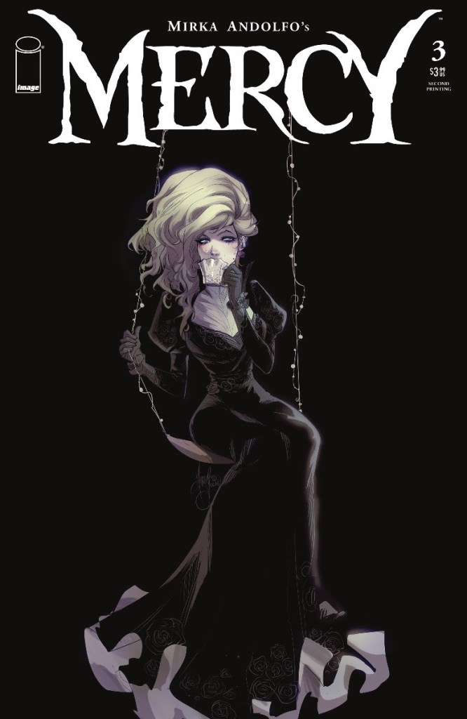 Mercy #3, second printing