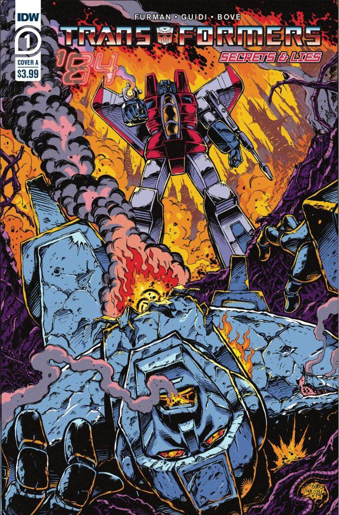 Transformers '84: Secrets & Lies #1 (of 4)