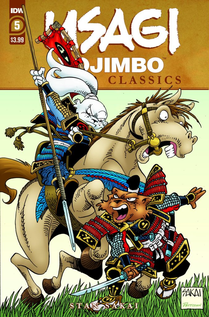 Usagi Yojimbo Color Classics #5 (of 7)