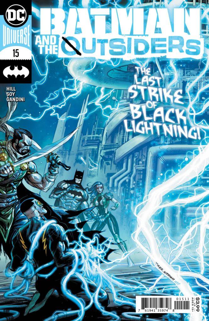 Batman & The Outsiders #15
