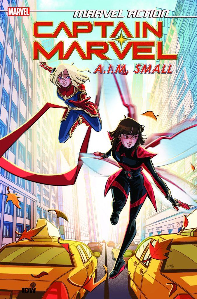 Marvel Action: Captain Marvel Vol. 2 A.I.M. Small
