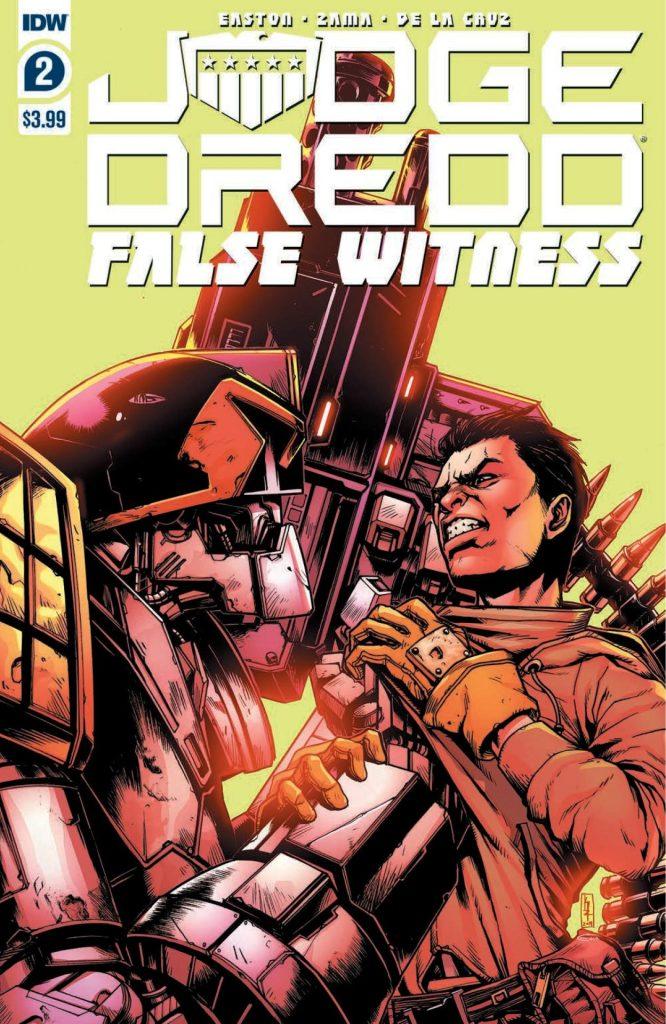 Judge Dredd: False Witness #2 (of 4)