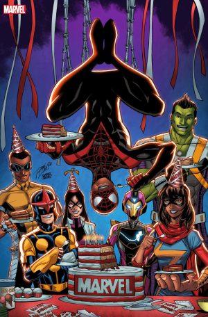 Miles Morales: Spider-Man #18 Ron Lim variant