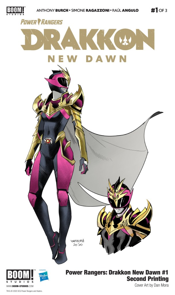 Power Rangers: Drakkon New Dawn #1 second printing