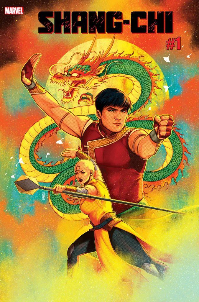 Shang-Chi #1 Jen Bartel variant