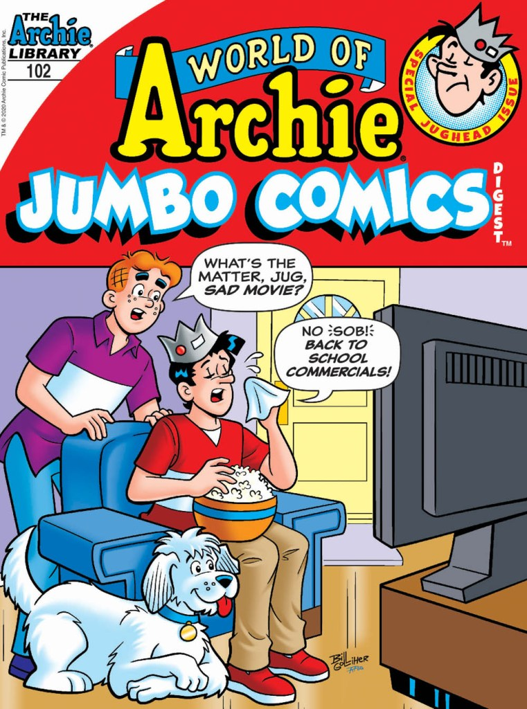 WORLD OF ARCHIE JUMBO COMICS DIGEST #102