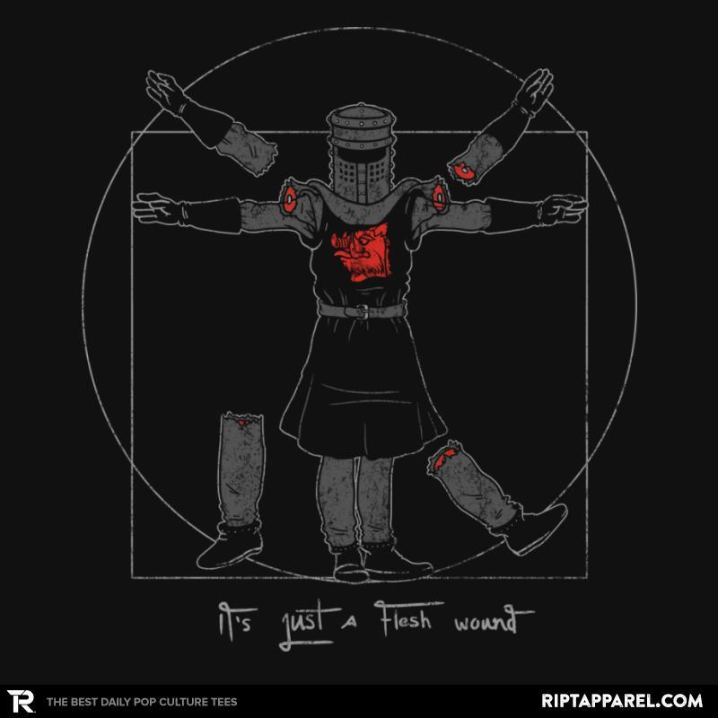 Vitruvian Black Knight