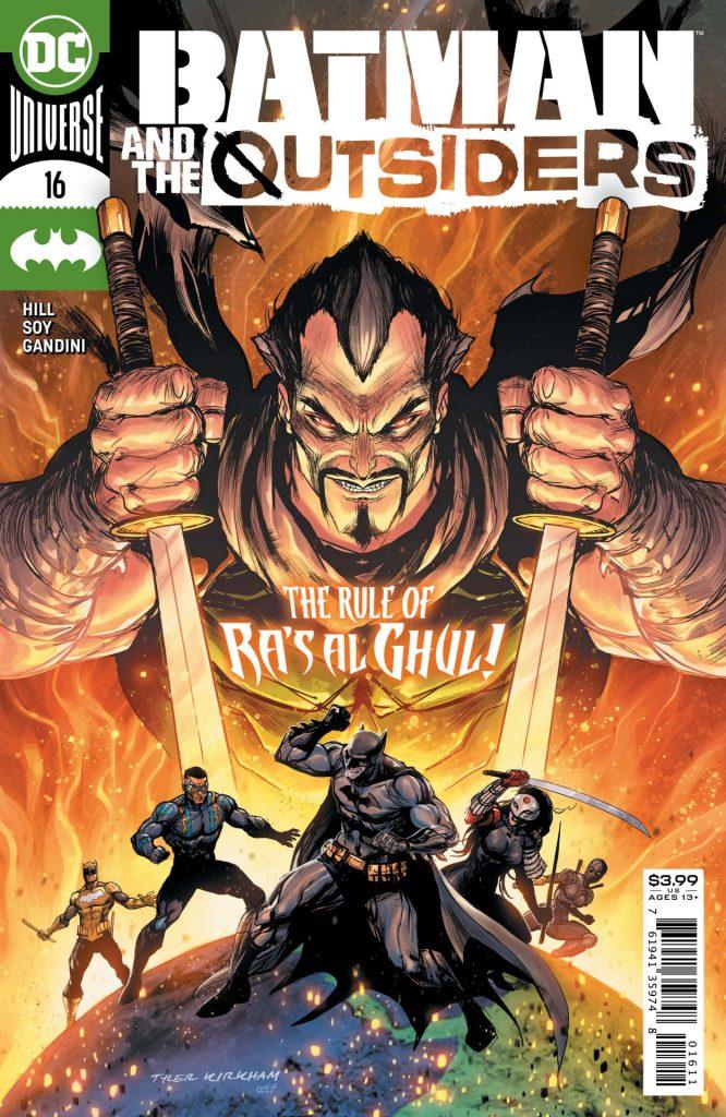 Batman & the Outsiders #16