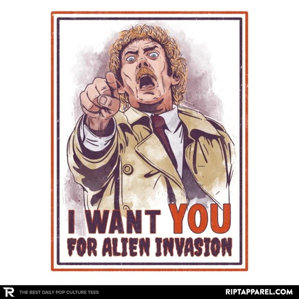 I Want You for Alien Invasion