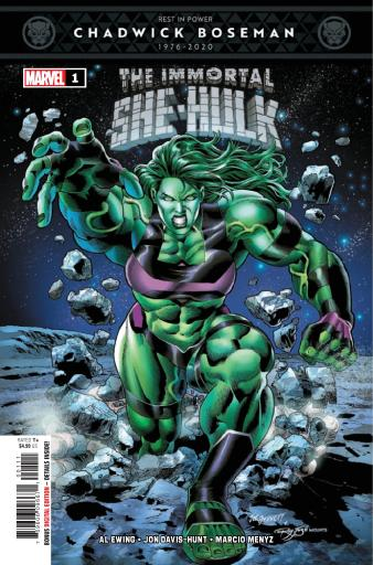 The Immortal She-Hulk #1