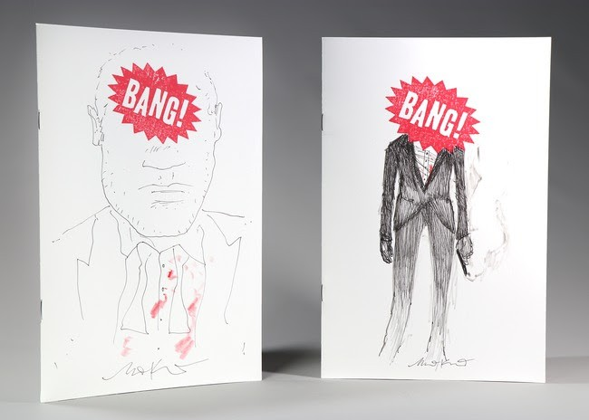 BANG! #1 Convention Exclusive Sketch Cover (Matt Kindt)