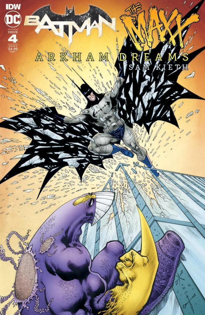 Batman/The Maxx: Arkham Dreams #4 (of 5)