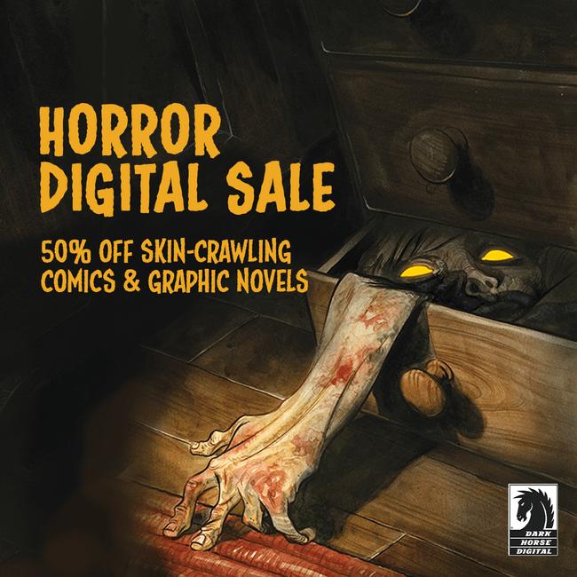 Dark Horse Horror Comic Sale